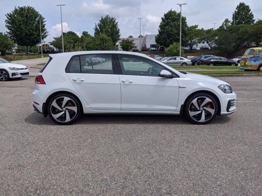 New 2020 Volkswagen Golf Gti For Sale Cary Nc 3vw6t7au6lm012390